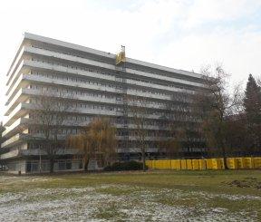 Rekonštrukcia nemocnice Trebišov – úpravy gynekologicko-pôrodníckeho a lôžkového oddelenia, 3.-9. NP