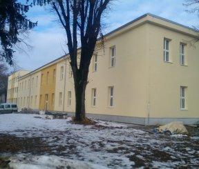 Rekonštrukcia budov časti areálu bývalých vojenských skladov pre TSM v Novom Meste nad Váhom - stavebné objekty SO - 04, 13, 14