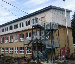 Prístavba, nadstavba a stavebné úpravy MŠ Liptovská Porúbka