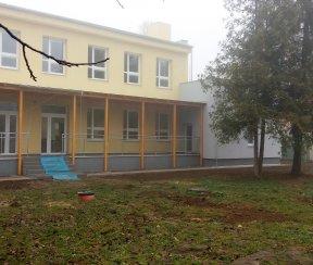 Obnova budovy materskej školy v obci Tušická Nová Ves