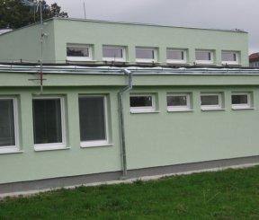 Prestavba dielní na objekt záchrannej služby